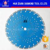 Lamierine del diamante del laser di taglio veloce per calcestruzzo 350mm