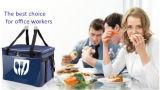 Saco isolado impermeável relativo à promoção do refrigerador do almoço do costume 600d Oxford
