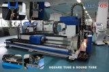Tube rond en métal et machine de coupeur de laser de tube et de feuille de grand dos en Chine