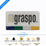 Wholesale Custom Companyロゴの公表Pinのバッジのブリキの記念品のめっき