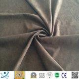 Polyester-färbte strickende Samt-Haupttextilgewebe-Ebene 100% Pinsel-Samt-Deckel-Gewebe-Samt-Perlen-Spielzeug-Gewebe