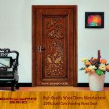 Роскошь китайского типа высекая нутряную деревянную дверь (GSP2-072)