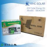 Whc 20W do Sistema de painéis solares para iluminação e carregamento de Telefone
