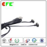 2pin 4plugの磁気ケーブルコネクタ