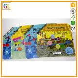 Книжное производство детей в спиральном изгибе с пер