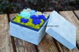 Decoración hecha a mano de la Navidad del regalo de la flor