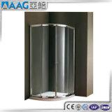 2018 El brillo de la partición de ducha de cristal de aluminio/deslizar el bastidor de receptáculo de ducha