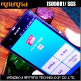Etiqueta tamaño pequeño de las etiquetas engomadas de la protección antifalsificación NFC