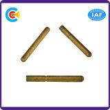 Go/DIN/Stainless-Steel JIS/ANSI/Carbon Steel Pan/4.8/8.8/10.9 broche en acier galvanisé pour les machines/vis de fixations de l'industrie