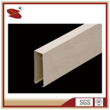 La vente en gros linéaire en aluminium de plafond de bords coniques pour produit l'apparence douce fermée