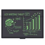 2017 зеленая доска сочинительства Howshow 57inch LCD Chalkboard с выдвиженческим