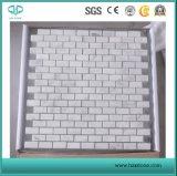 Lastre di marmo/di marmo bianche/mosaici di marmo bianchi/mosaici della Cina/bordo/mattonelle di marmo del mosaico