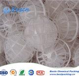 Embalaje en forma de bola de porosidad Aplicar en el tratamiento de aguas residuales de petroquímica, alimentos, textiles, teñido, cuero