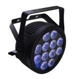 Equipamento de iluminação do efeito do diodo emissor de luz da PARIDADE de UV+RGBWA para o estágio
