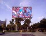 Diodo emissor de luz ao ar livre impermeável da cor P10 cheia que anuncia a indicação digital