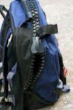 Индивидуального дизайна логотипа школы Пакет Big молнией рюкзак