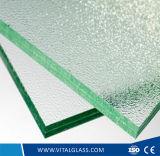 유리제 단단하게 한 착색되는 굽은 Windows 장식 산에 의하여 식각되는 장식무늬가 든 유리 제품