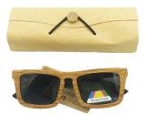 Fx14017 de Houten Zonnebril Lage MOQ Hotsale van Sunglass van het Skateboard van de Kwaliteit