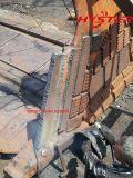 700 de StandaardDelen van de Slijtage van het Ijzer van de Staaf van de Slijtage Bhn Witte voor de Delen van de Machine van de Mijnbouw