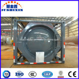 envase químico del tanque del ácido clorhídrico del líquido del almacenaje de la ISO del acero de carbón de los 20FT los 40FT