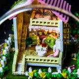 2017 Dollhouse игрушки DIY Handmade красивейших малышей деревянный