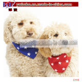 アクリルのスカーフの誕生日の小犬のバンダナの綿のバンダナ(C1114)
