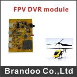 Gravador de vídeo de Quadcopter do zangão de Fpv, módulo ultra leve de 1CH SD DVR