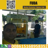 Máquina de fatura de tijolo do cimento Qt4-18 hidráulico em Sri Lanka