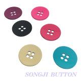 Металлического сплава пружинное стопорное кнопка для одежды с 4 отверстиями сплава .