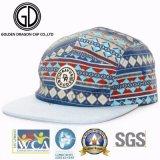 Le premier chapeau de campeur de mode de rue de vente des 2017 Etats-Unis folâtre le chapeau de Snapback avec le tissu coloré de qualité