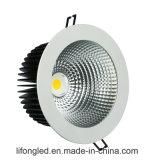 상점가를 위한 고성능 8 인치 50W 옥수수 속 LED Downlight