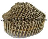 Clous de la palette Q195/Q235 couvrant des clous de bobine de clous - Galv. Conique