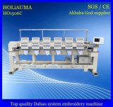 Sixe HaupthochgeschwindigkeitsDahao Systems-Computer-Stickerei-Maschine mit multi Funktions-Stickerei