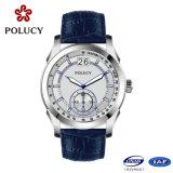 Relógios de quartzo para homem genuíno de couro genuíno homens
