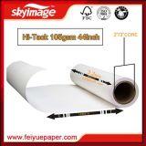 105GSM 1, 118 milímetros * 44 polegadas - papel pegajoso elevado do Sublimation para a impressão de matéria têxtil