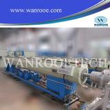 Tubulação elétrica do PVC que faz a máquina