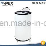 85L Glass Door Beverage Cooler Party Cooler Dog Shape Cooler