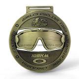 Medalla barata del metal del deporte de la acabadora de la aduana el 108km de China