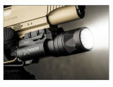 Caza táctico de disparo del rifle del arma de la pistola de aire de aluminio linterna LED X300 arma ligera