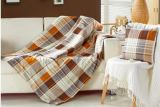 2 en 1 niño de lino de la manta de la almohadilla de tiro del sofá del amortiguador del algodón de múltiples funciones combinado