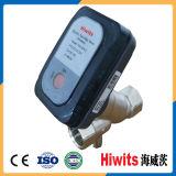 Válvula de atuador de aquecimento Hiwits Dn15-Dn25 com bateria de 3.6V para sistema de água de aquecedor