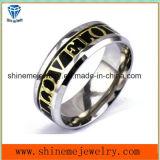 De Ingelegde Ring van het Lichaam van het Roestvrij staal van de manier Juwelen (SSR2788)