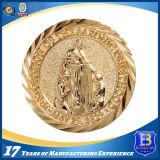Монетка ангела сувенира покрынная золотом (Ele-C101)