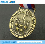 Il medaglione su ordinazione del campione del vincitore di medaglia dei premi di sport perfezionamento il regalo