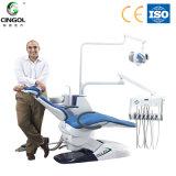 セリウム、ISOが付いている床の立場のタイプ歯科椅子は証明する