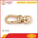 Catenaccio su ordinazione dell'anello chiave della catena chiave del metallo per monili