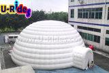 8m Weiß-Farben-aufblasbares Projektions-Abdeckung-Zelt