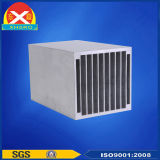 空気ファンが付いている中国アルミニウムプロフィール脱熱器
