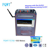 macchina portatile del rivelatore dell'acqua sotterranea del rivelatore delle acque profonde di 600m