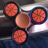 Nuovi giocattoli della mano del filatore di irrequietezza di gioco del calcio di pallacanestro di disegno